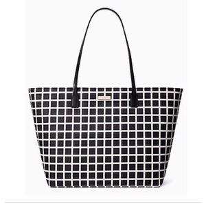 Kate Spade Margareta Checkered Tote